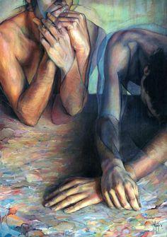 Paintings by David Agenjo | Ideas Tumateix