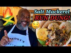 "How to Cook Salt Mackerel RunDown! (Jamaican ""RUN DUNG"") - YouTube Recipes With Fish And Shrimp, Shrimp Recipes, Food Videos, Caribbean, The Creator, Salt, Running, Dinner, Cooking"