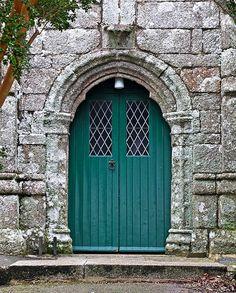 The South Door of Constantine Parish Church | by Tim Green aka atoach