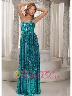 Buy teal paillette over skirt single shoulder floor length formal prom dresses from discount prom dresses collection, one shoulder neckline column/sheath in blue color,cheap dress with zipper back and sweep train for prom formal evening pageant . Teal Homecoming Dresses, Girls Pageant Dresses, Party Dresses, Dresses 2013, Prom Gowns, Maxi Dresses, Evening Dresses Online Shopping, Gorgeous Prom Dresses, Elegant Dresses