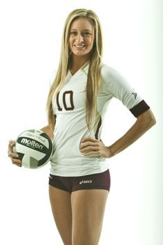 Volleyball Poses on Pinterest