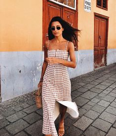 22 Ideas sunday brunch outfit ideas casual for 2019 Casual Outfits, Cute Outfits, Fashion Outfits, Sunday Brunch Outfit, Nice Dresses, Summer Dresses, Street Style, Summer Outfits Women, Outfit Summer