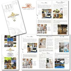 Alentejo Marmoris Hotel & Spa ***** - Triptico _ Brochure   Graphic Design vy sr3ddesign Portfolio Print, Graphic Design Brochure, Animation, Hotel Spa, 3d Design, Packing, 3d Pictures, Bag Packaging, Animation Movies