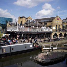#Camdenmarket and the canal! // #Camden #sunshine
