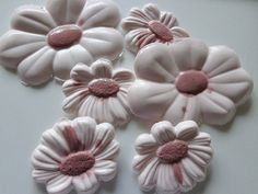 Magnolia Flower Soaps Custom Soap Set Gift by butterfliesnbloom