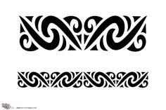 Tattoo of Maori Armband 3, Wealth, protection tattoo - custom tattoo designs on TattooTribes.com
