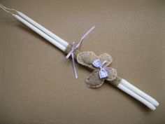Lavender Butterfly Baptism/Easter Lambada Handmade by Eikosi2 on Etsy