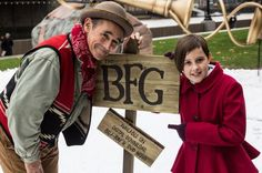 nice Mark Rylance and Ruby Barnhill launch 'The BFG' home release in London