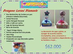 Menus :: Desayunos y Sorpresas Luvani Ideas, Surprise Gifts, Granola Bars, Afternoon Snacks, Thoughts