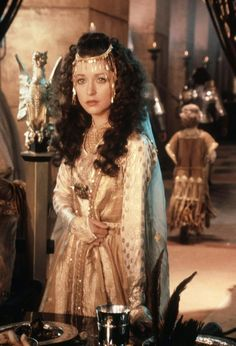 Cherie Lunghi as Guinevere in 1981's Excalibur