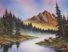bob ross paintings for sale | Bob Ross Paintings, Bob Ross Art Gallery, Bob Ross Artwork, Pictures