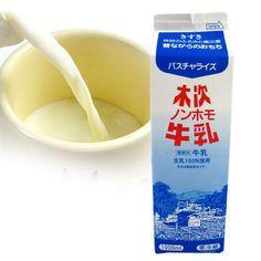 【島根奥出雲産】《木次乳業》木次ノンホモ牛乳★1000mL