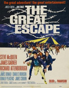 The Great Escape,John Sturges,Elmer Bernstein.  Sure, it's a guy movie, but it's also incredibly good.  My oldest has seen it a hundred times, I think :-)