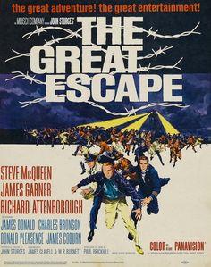 The Great Escape,John Sturges,Elmer Bernstein,