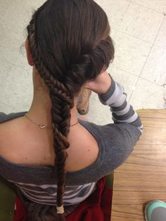Fishtail braids What I'd imagine Wynafryd Manderly to have from SoIaF