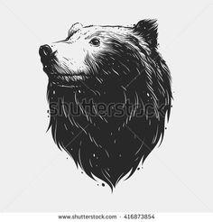stock-vector-bear-head-416873854.jpg (450×470)