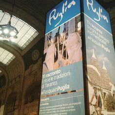 #PasquaInPuglia in stazione a Milano fotografata da @fabiocasciabianca