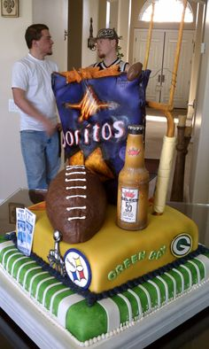 My sisters Superbowl Cake