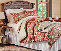 Stella Duvet & Shams Bedroom Bed, Bedroom Decor, Bedroom Ideas, Bedroom Stuff, Bed Rooms, Glam Bedding, Romantic Bedding, Bedroom Vintage, How To Make Bed