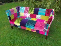 Patchwork Sofa Designed by Katie Moore designers guild fabrics