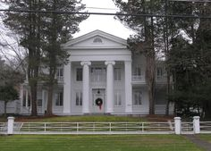 The Fitch House is a Greek Revival home in Mansfield Center, built in 1836...now a bed and breakfast originally built by Col. Edwin Fitch.  Historic Buildings of Connecticut