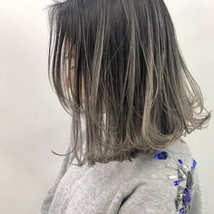 HAIR STYLE Hair Streaks, Hair Highlights, Medium Hair Styles, Short Hair Styles, Hair Arrange, Looks Chic, Good Hair Day, Bob Hairstyles, New Hair