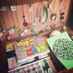 Come si suol dire: una #valigia di #sogni!  A suitcase full of #dreams !! #dolcimagie #handmade #jewelry #jewels #madeinitaly #madetoorder #collana #bracciale  #orecchini #tele #canvas #quotes #mandala #creative #love #loveit #etsy #etsyshop #facebook #alittlemarket