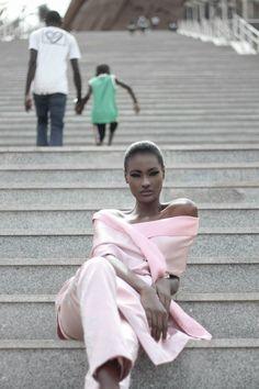 Aminata Faye - Mannequin sénégalaise / Senegalese model / Mannequin africaine / African model