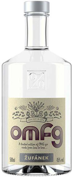 OMFG London Dry Gin - Mit Mexican Damiana. Aphrodisierend und köstlich.