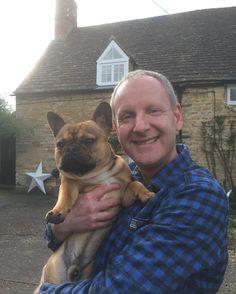 Smile Bertie... #myboys #frenchie #frenchbulldog #countryboy #countryside #rutland #catesbys #interiordesign #barnstar #loveofcountryhouses #englishcountryhome #exton