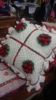 almohadon de flores