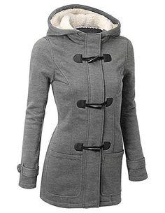 BYD Femmes Manteaux à Capuche Bouton Corne Blouson Veste Jacket Manches Longues Chaud Épais Hoodie Hoody Outwear Automne Hiver Slim Fit: Le…
