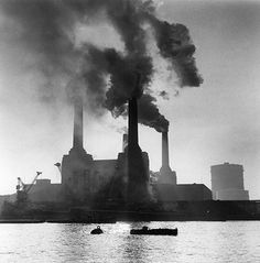 Battersea Power Station, London, in 1968. © Architectural Press Archive / RIBA Library Photographs Collection