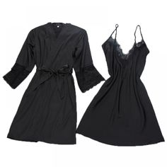 cab7af815c Women s Sexy Silk Robe and Nightgown Set Price    24.52  amp  FREE Shipping