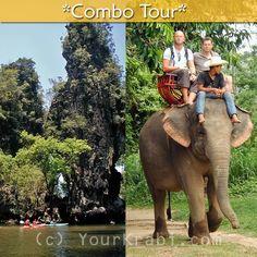 Kayaking in Ao Thalane + Elephant Trekking