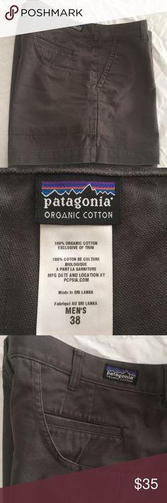 "Patagonia Organic Cotton Shorts Men's 38 Patagonia Organic Cotton Shorts Men's 38, zip fly with Button closure, #57221, Inseam 5"", good condition Patagonia Shorts"