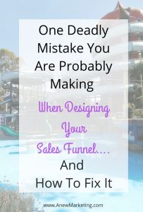 Designing your sales funnel the right way is one of the keys to a successful and profitable business. Many business owners make one grave mistake.