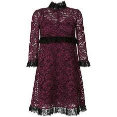 Dolce & Gabbana frill lace dress