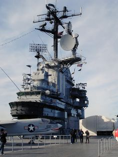 Intrepid Sea, Air and Space Museum. New York. Photo by Andy New.