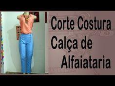 Curso Corte e Costura passo-a-passo Calça de Alfaiataria - Super Fácil - YouTube