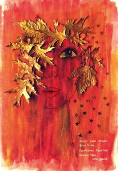 Bastelmania: Autumn face