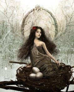 ✯ III- The Empress -Tarot Series- :: Artist Odessa Sawyer ✯