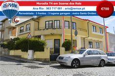 ARRENDAMENTO - Moradia T4 em Soares dos Reis http://www.remax.pt/123551032-192 Comigo Está Vendido! Ana Rio : 963 717 081 : ario@remax.pt