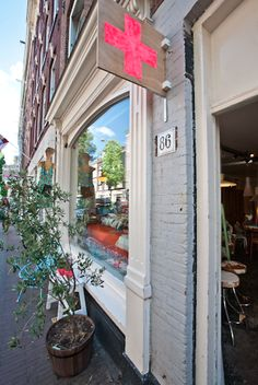 Great spot in Amsterdam: All the luck in the world. Photos by Elisah Jacobs/Interiorjunkie.com