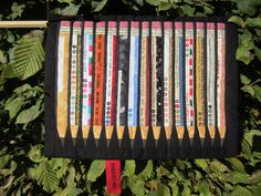 crayons christine bee -- amazing selvage pencils!