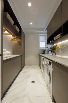 Modern Laundry Rooms, Laundry Room Layouts, Laundry Room Remodel, Laundry Room Organization, Laundry In Bathroom, Laundry Room Small, Laundry Room Design, Home Room Design, House Design