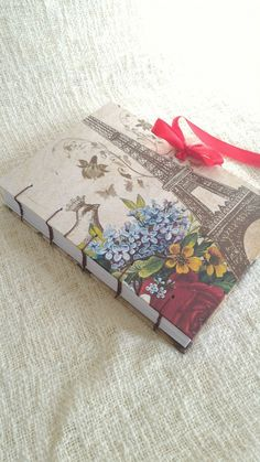 Caderno Costurado à Mão   atelierdocesabor.com