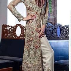 7571e57489a6d Alizah Waqar Net Bridal Suit - Replica Zone Travail En Pierre