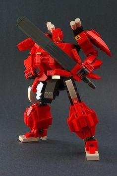 Gundam Red Sword Musha: A LEGO® creation by Devid VII : MOCpages.com