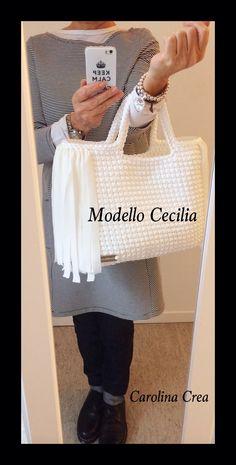 Modello Cecilia - Cordino Intreccio www.carolinacrea.it